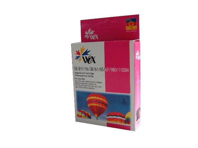 Compatible Brother LC38M (LC67M) Magenta ink cartridge